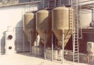 Iimpianto stoccaggio e filtrazione morchie