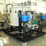 Impianto stoccaggi-dosaggio automatizzato