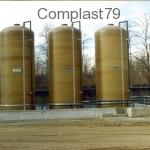 Impianto stoccaggio acque da trattare MC. 75
