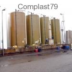 Impianto stoccaggio prodotti chimici