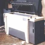 Macchina in PVC per lavaggio rulli serigrafici
