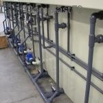 Tubazioni e valvole in PVC