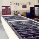 Vasca PEHD per lavorazione circuiti stampati
