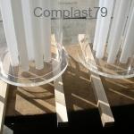 Colonna in Plexiglass
