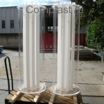 Colonna in Plexiglass