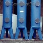 Colonne di filtrazione in PVC rivestite in PRFV