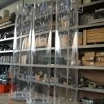Colonne in Plexiglass