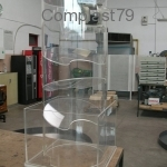 Espositore in Plexiglass per pompe