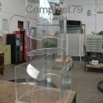 Espositore in Plexiglass per pompe