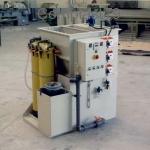 Impianto trattamento chimico fisico in PP