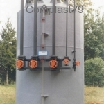 Serbatoio PVC rinforzato PRFV