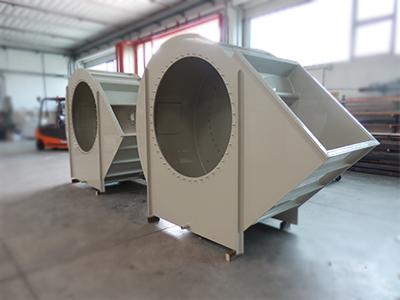ventilatori centrifughi industriali