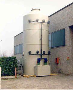 Smoke abatement towers